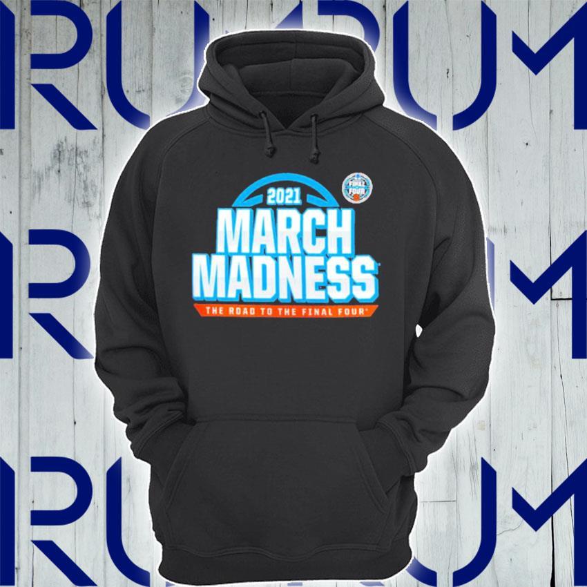 2021 NCAA Men's Basketball Tournament March Madness Team Bracket T-Shirt Hoodie