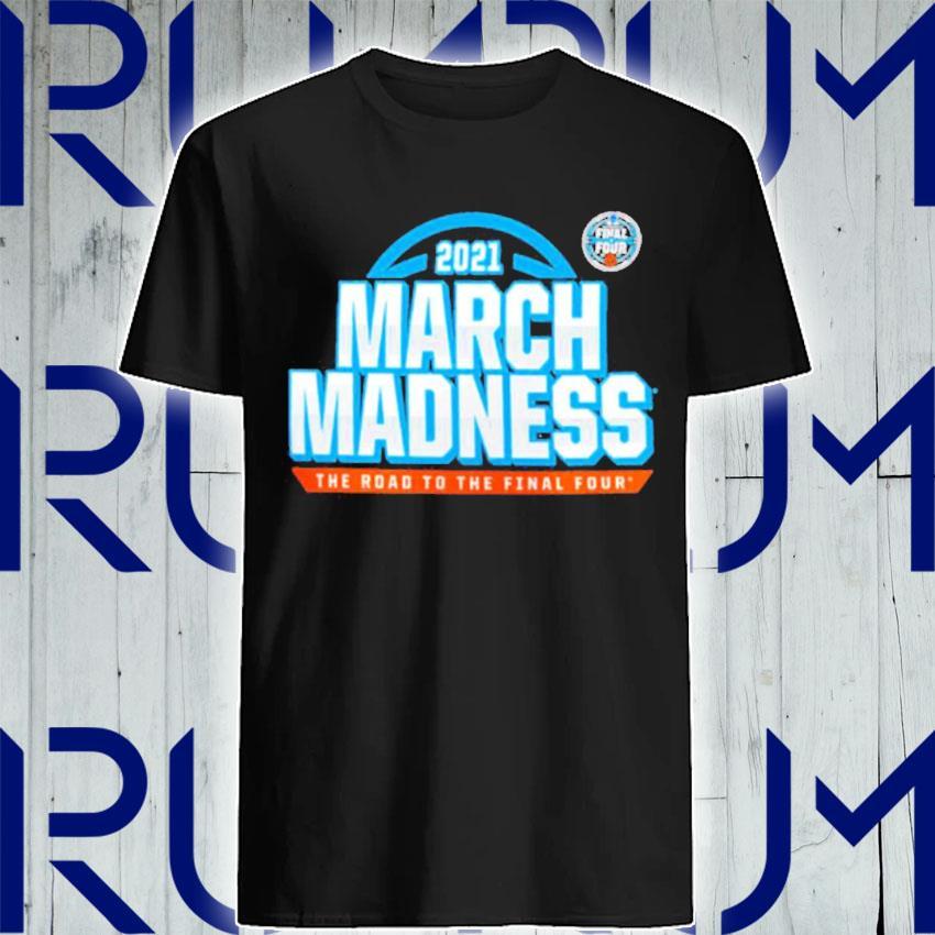 2021 NCAA Men's Basketball Tournament March Madness Team Bracket T-Shirt