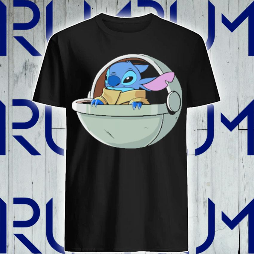 Baby Stitch Star War shirt