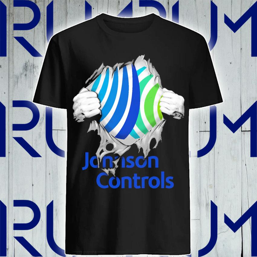 Blood inside Me Johnson Controls shirt
