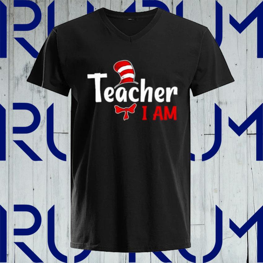 I Am Teacher Merry Christmas s V-neck
