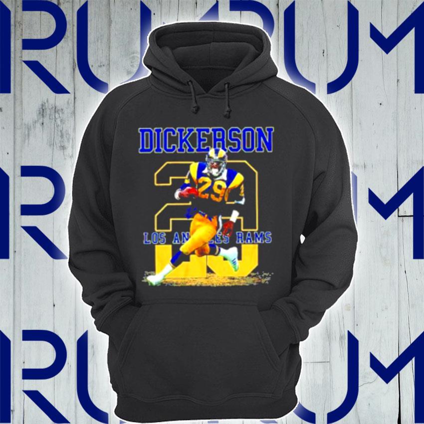 Ness Eric Dickerson 29 Los Angeles Rams s Hoodie