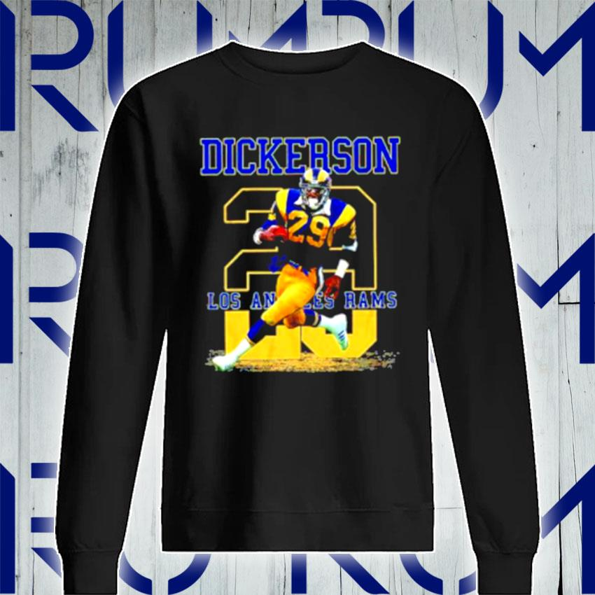 Ness Eric Dickerson 29 Los Angeles Rams s Sweatshirt
