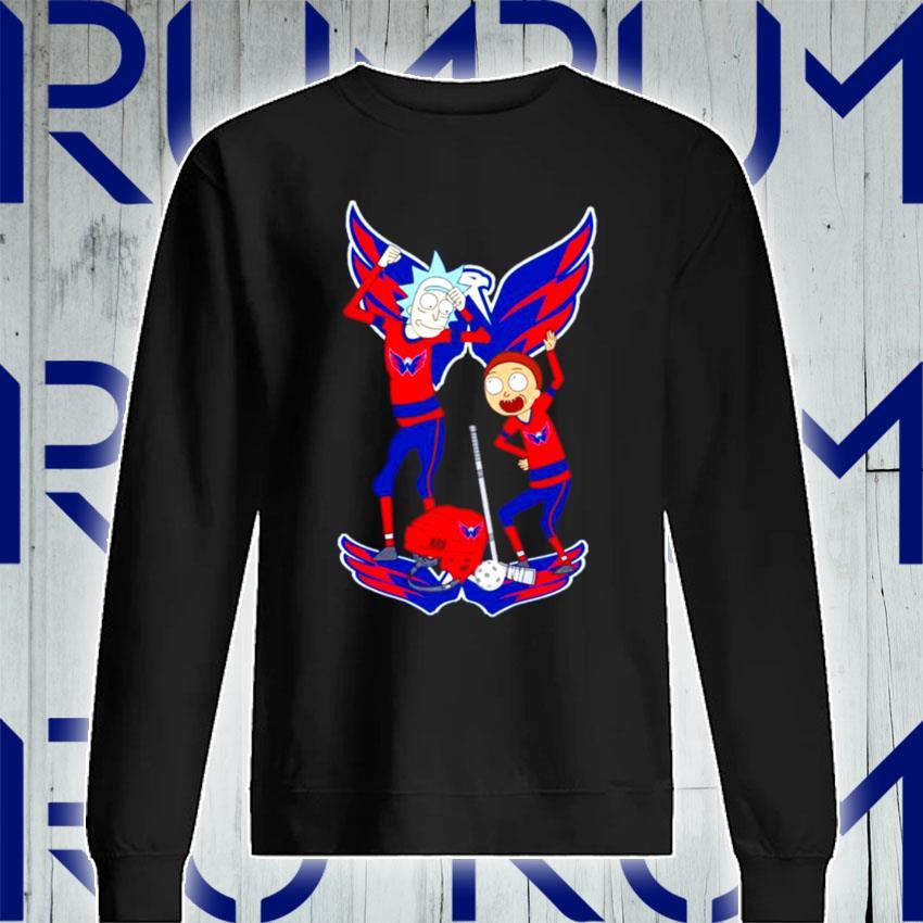 NHL Washington Capitals Rick and Morty s Sweatshirt