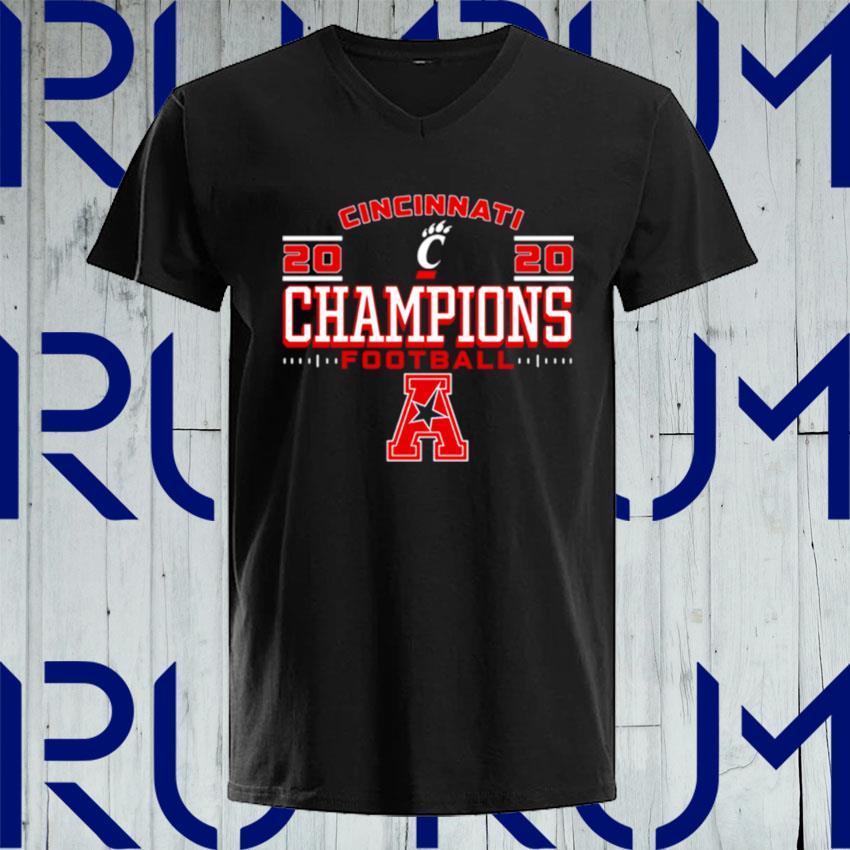 OriginalCincinnati Bearcats AAC Football Champs s V-neck