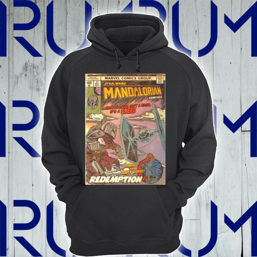 Star Wars The Madalorian Redemption Poster s Hoodie