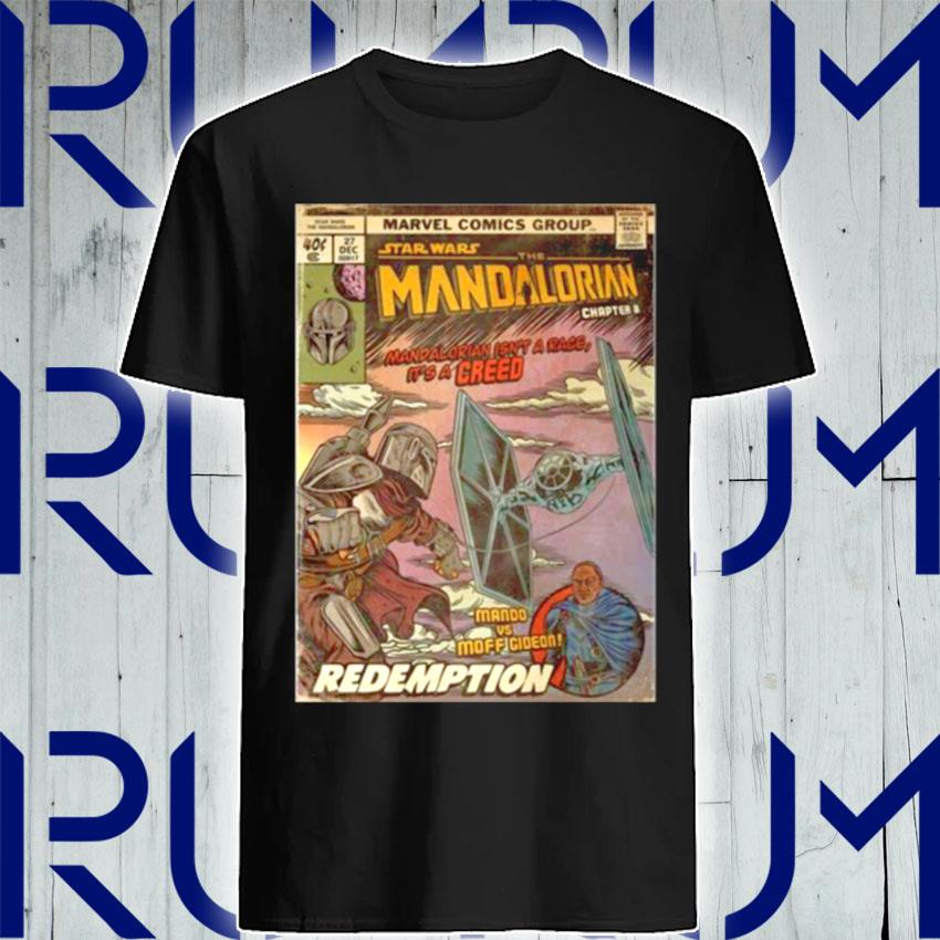 Star Wars The Madalorian Redemption Poster shirt