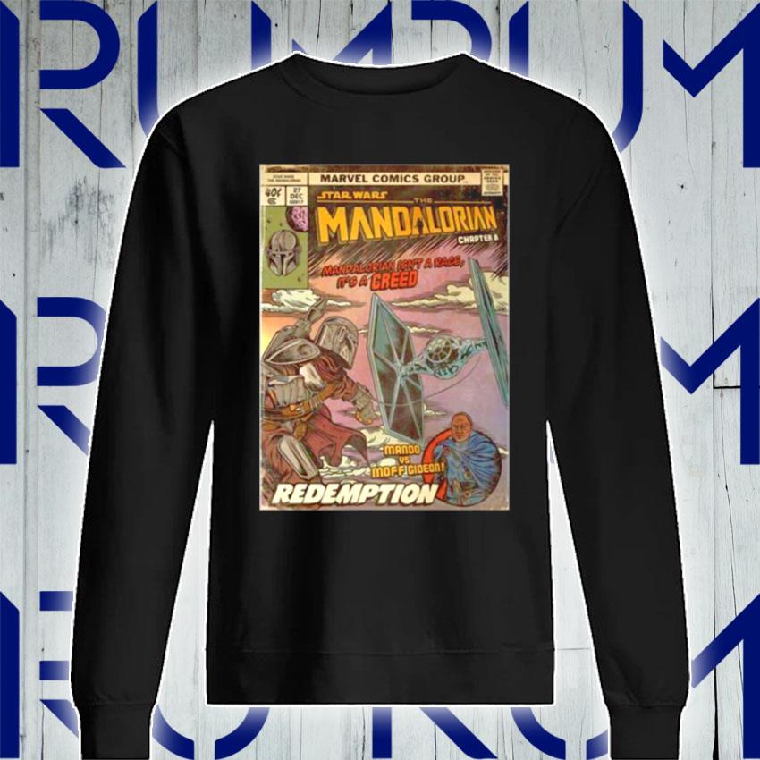 Star Wars The Madalorian Redemption Poster s Sweatshirt