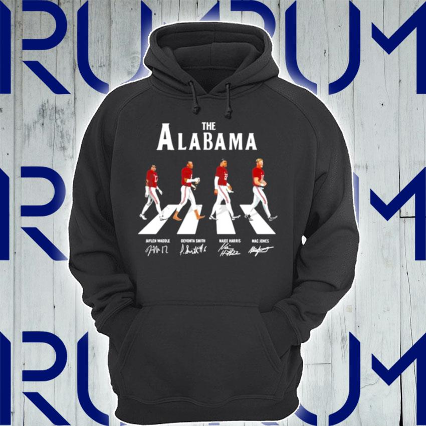 The Alabama Football Team Signature Abbey Road s Hoodie