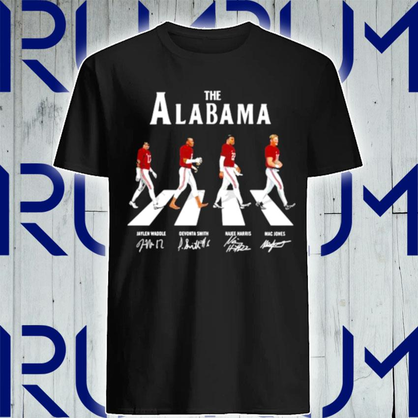The Alabama Football Team Signature Abbey Road shirt