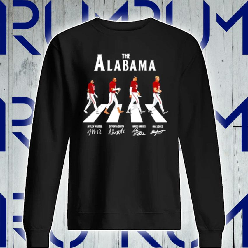 The Alabama Football Team Signature Abbey Road s Sweatshirt