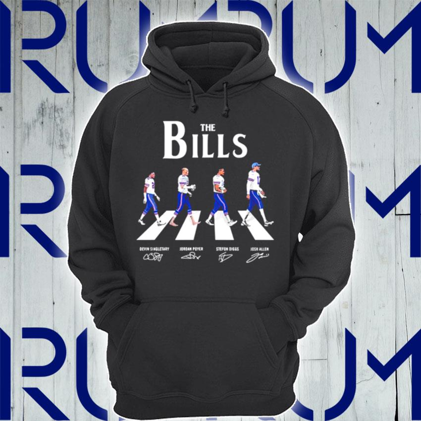The Bills Abbey Road signatures s Hoodie
