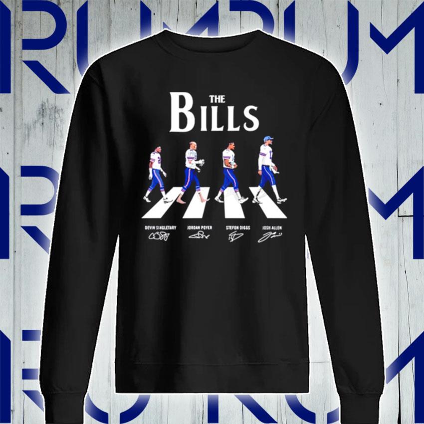 The Bills Abbey Road signatures s Sweatshirt