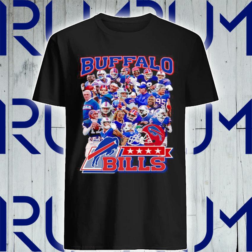 The Buffalo Bills Team Football Players 2021 shirt