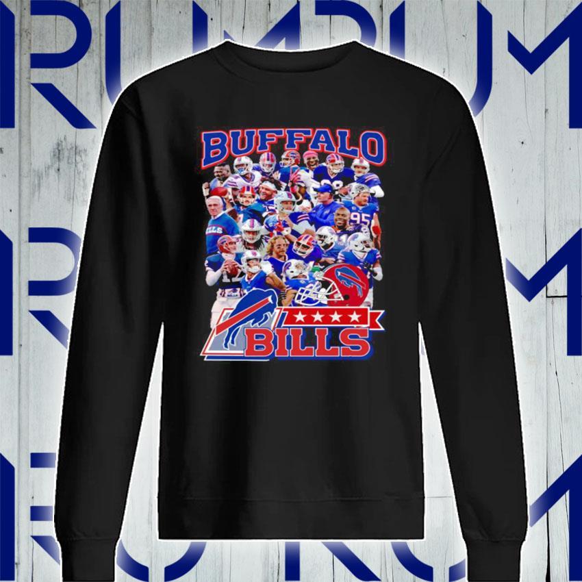 The Buffalo Bills Team Football Players 2021 s Sweatshirt
