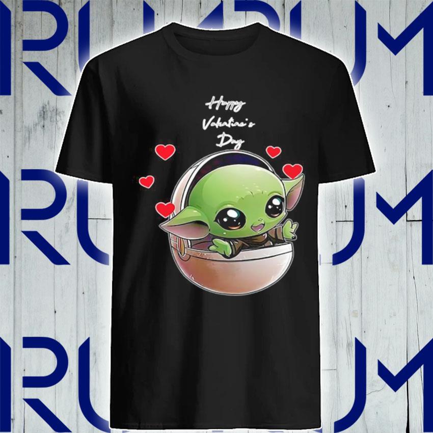 The Mandalorian Baby Yoda Happy Valentine Day 2021 shirt